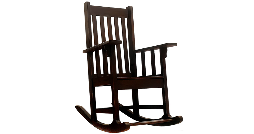 Rocking Chair Large Kahoy An Furniture